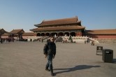 The great square. The Forbidden City, Beijing China.