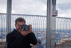 Top of the Empire State Building. New York, USA.