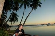 Sunset from El Nido, Palawan Philippines