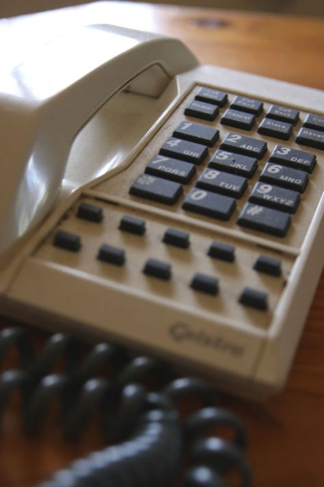 The family landline phone was our telegraph for births, deaths and marriages.